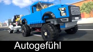 Ford Lego Speed Champions commercial with F-150 Raptor & Hot Rod - Autogefühl(Support us on Patreon if you like: http://www.patreon.com/autogefuehl ***Playlists for latest reviews*** Our FULL REVIEWS from 2016 Q1: ..., 2016-01-12T11:30:00.000Z)