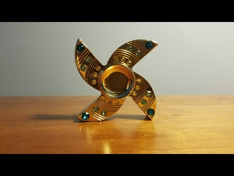 ߷ Most Luxurious Spinner Ever!! 24 Karrot Gold Plated Luxurious Spinner (VERY RARE)