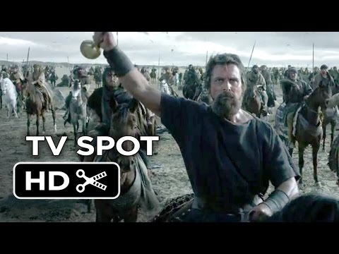 Exodus: Gods and Kings TV SPOT  Face Off 2014  Christian Bale Movie HD