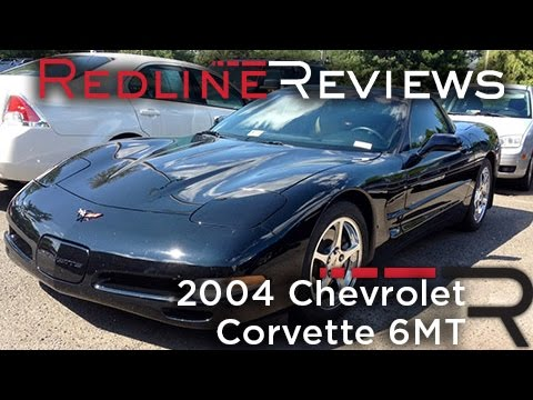 2004 Chevrolet Corvette 6MT, Review, Walkaround, Exhaust, Test Drive