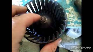 Как разобрать двигатель печки ваз 2108 09 13 14 и т.д.