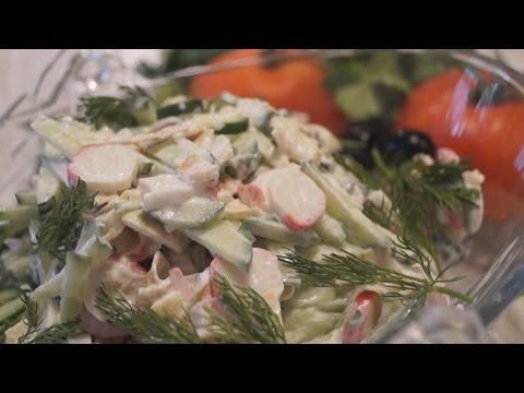 Легкий салат 3 Ингредиента. Вкуснота такая, что не передашь словами)