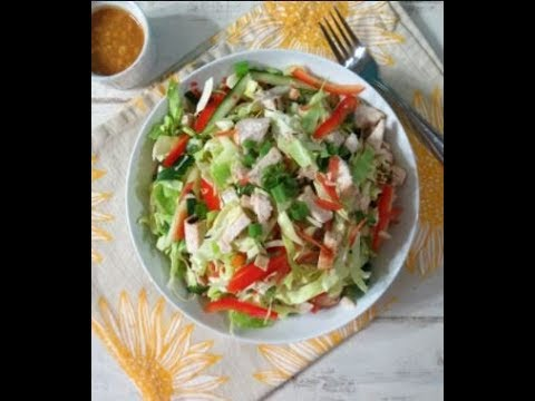 chinese sausage and spicy salad