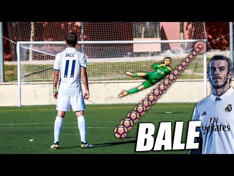 Aprende a Tirar Faltas como Gareth Bale - Como Pegar al Balón como Bale (Knuckleball Bale Tutorial)