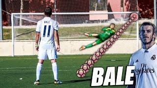 Aprende a Tirar Faltas como Gareth Bale - Como Pegar al Balón como Bale (Knuckleball Bale Tutorial) thumbnail