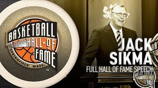 Jack Sikma | Hall of Fame Enshrinement Speech