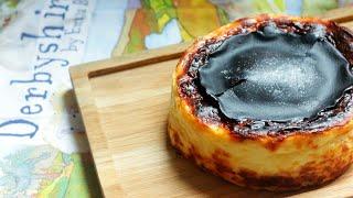 4가지 재료로 쉽게 만드는 바스크 치즈케이크
