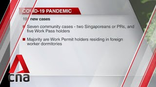 COVID-19 update, June 24: Singapore reports 191 new cases