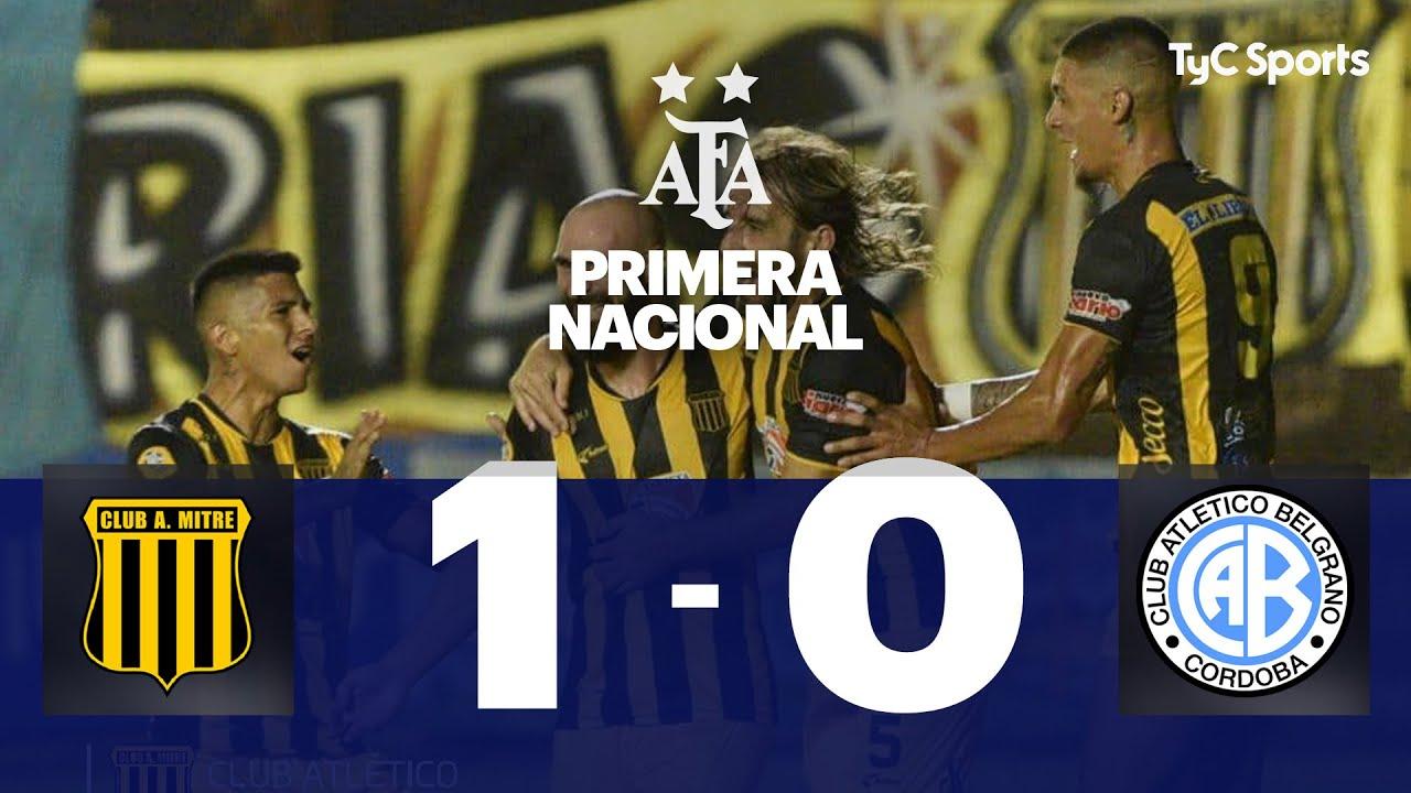 Mitre 1-0 Belgrano | Primera Nacional