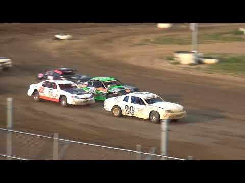 IMCA Stock Car Heat 2 Independence Motor Speedway 8/18/18