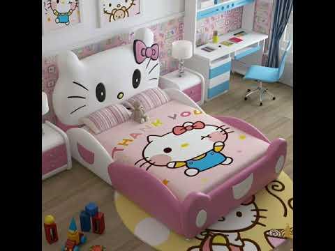 Мебель детская, Наборы для спален, детская двухъярусная кровать, Принцесса замок кровать с лестницей