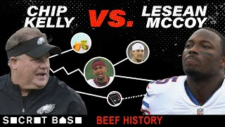 "Chip Kelly and LeSean McCoy had a beef marinated in Chip's ""culture"""