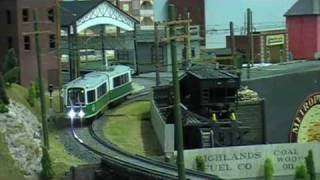 Bay State Model RR Museum - O Scale Trolley Lines