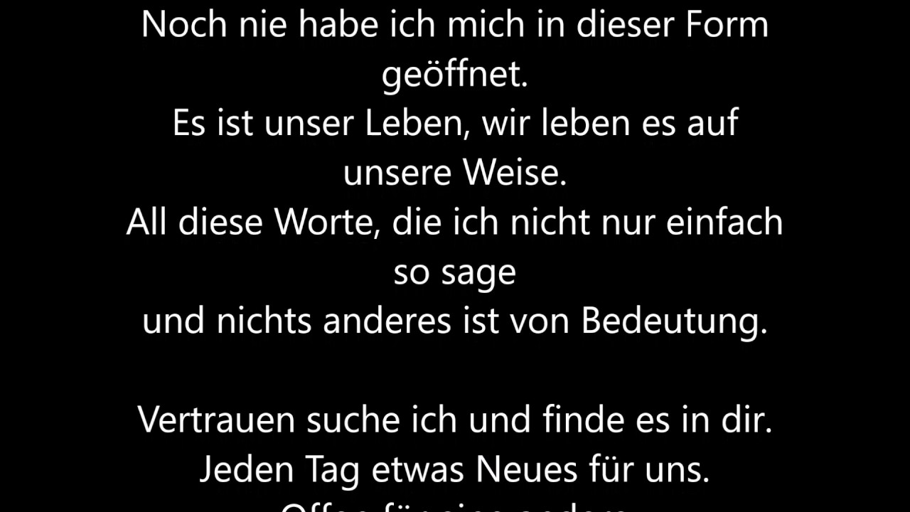 Metallica Nothing Else Matters Deutsche Ubersetzung German