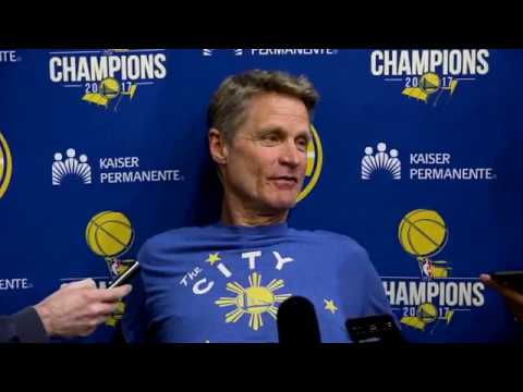 Warriors' Steve Kerr gives Steph Curry injury update and more | ESPN