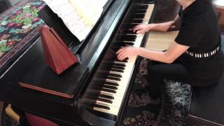 (HD) J.S. Bach. Gigue, French Suite No. 4 in E-Flat BWV 815