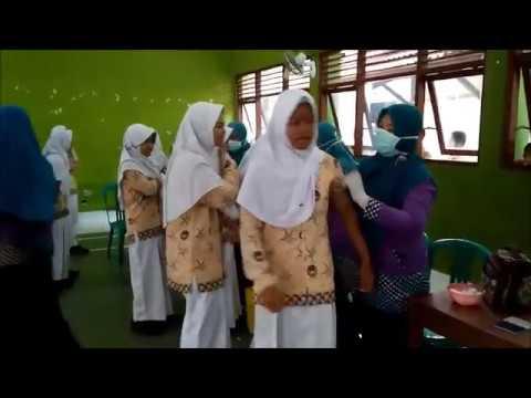Kegiatan Imunisasi Rubela di SMP Negeri 2 Majenang