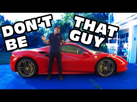 Save Money When Buying Your First Used Ferrari