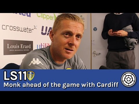 LS11 | Garry Monk ahead of Leeds' trip to Cardiff