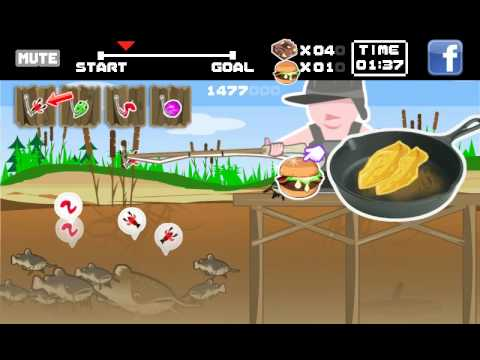 Catfishing Fry: Fishing Game - Free Flash Game