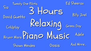 3 hours piano music playlist for work | study | sleep | relaxation