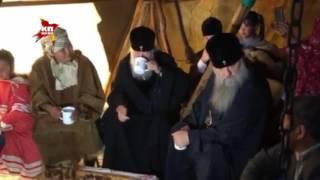 Патриарх Кирилл пообедал у чукчей-оленеводов