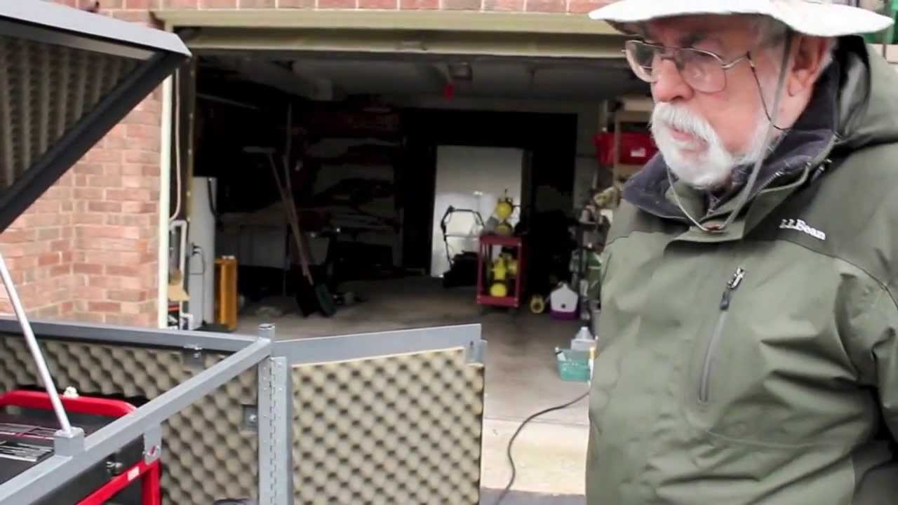 All Weather Portable Generator Enclosure - YouTube