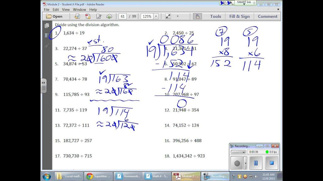 Grade 6 Module 2 Lesson 13