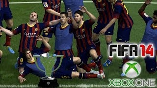 FIFA 14 Xbox ONE: Mi Primer GamePlay, BARCELONA vs REAL MADRID