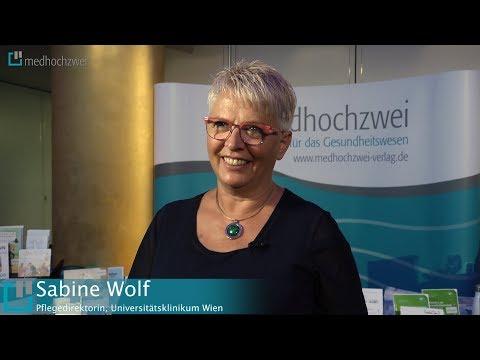 Sabine Wolf über Ein Projekt Zur Stationären Pflegedokumentation Am AKH Wien