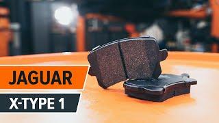 Montage JAGUAR X-TYPE (CF1) Bremsklötze: kostenloses Video
