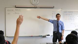 Solving Equation Problems (2 of 3: Using inverses to change the subject)