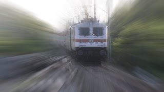 First on Youtube - Indian Railways WAP7 Ananthapuri express