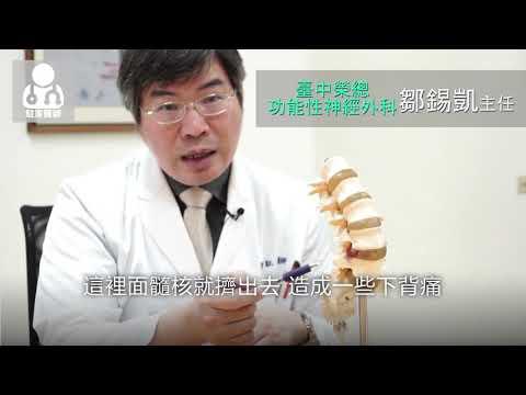 20170717椎間盤突出一定要開大刀? 微創手術2小時改善疼痛