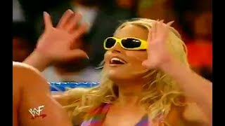 trish stratus does the worm grandmaster steve blackman trish vs rtc wwf 720p ᴴᴰ