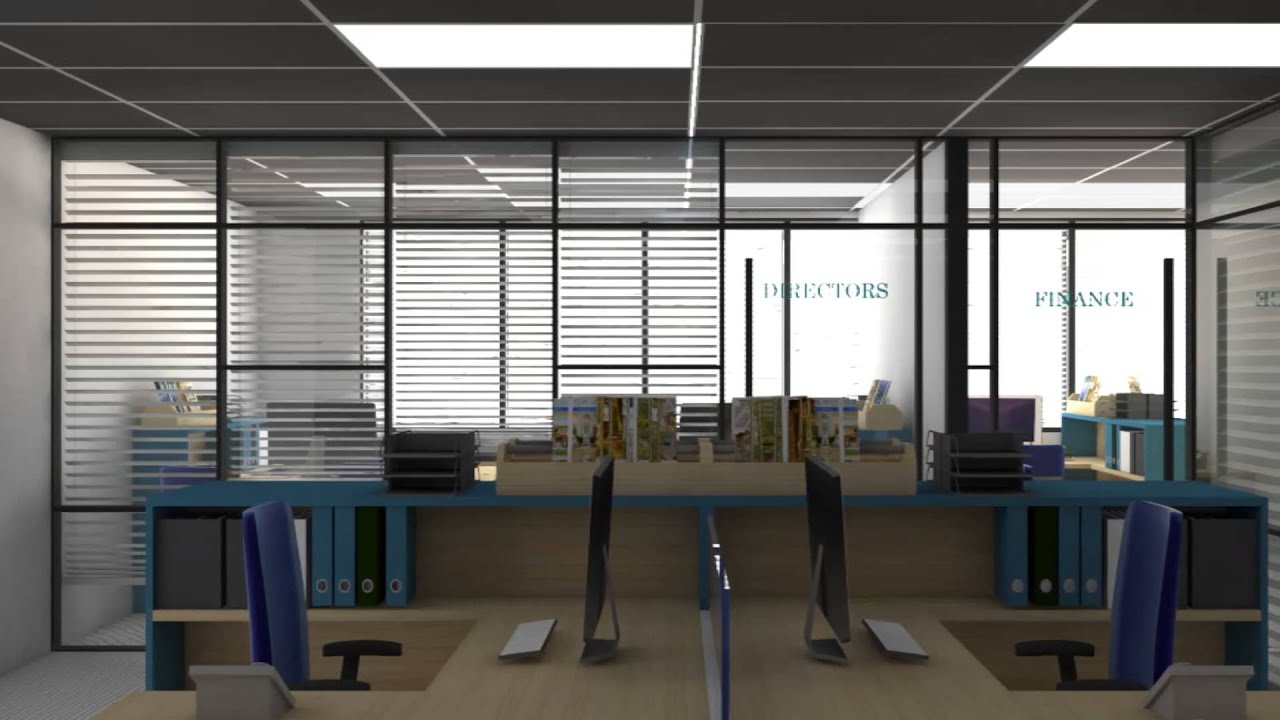 Small office concept design by interior my
