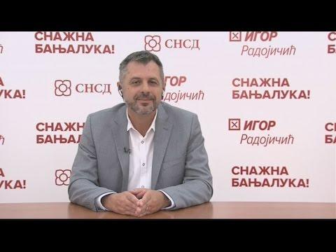 Gost Dnevnika TV1 - Igor Radojičić