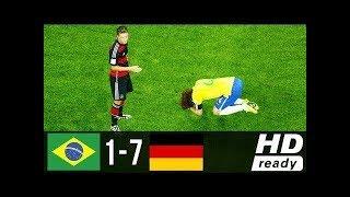 مباراة البرازيل والمانيا 7 🔥 1  نصف نهائي كأس العالم 2014🔥رؤوف خليف🔥شاشة كاملة