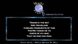 World Behind My Wall - Instrumental Version in the style of Tokio Hotel