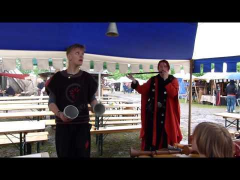 ConFilius - Becherjonglage mit Philippus dem Gaukler [Mittelalter in München 2013]