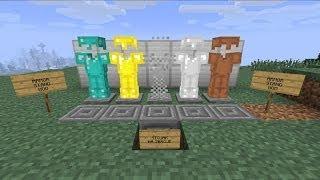 #12 Minecraft - Секреты (Стенд для брони)