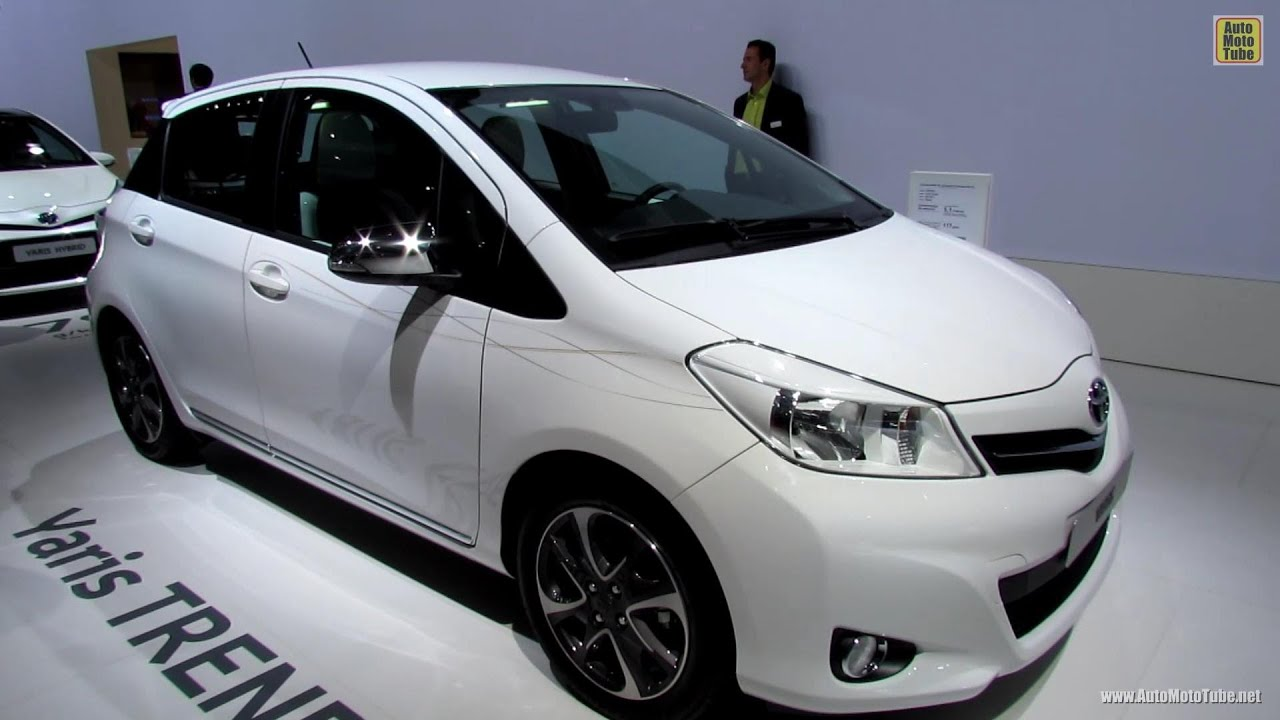 2013 Toyota Yaris Trend Exterior and Interior Walkaround Debut
