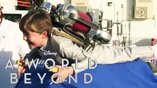A WORLD BEYOND – Am Set von A World Beyond – JETZT im Kino – Disney HD