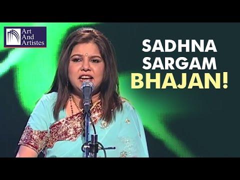 Sadhana Sargam | Bhajans | Pandit Jasraj | Devotional Music | Idea Jalsa | Art and Artistes