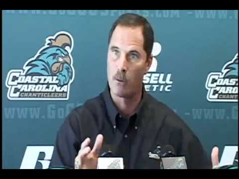 "acting crazy: Coastal Carolina Football Coach- -""We Need More Dogs"""