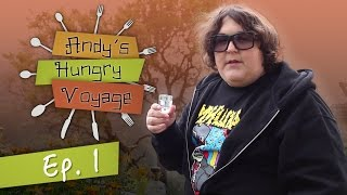 Andy Milonakis Arrives in Crete! - Andy?s Hungry Voyage | Ep 1