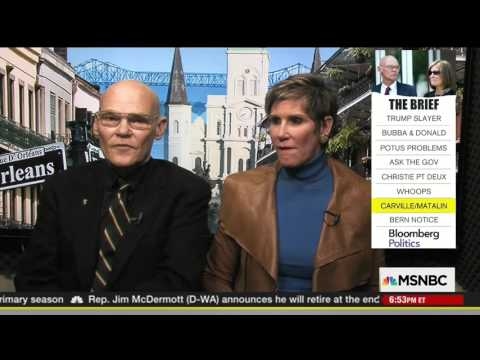 James Carville admits Hillary Clinton is boring