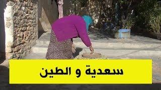 إمرأة الطين.. سعدية تكسب قوتها من الطين بسطيف