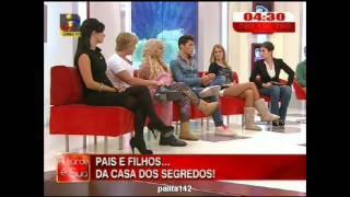Daniela P.,João Mota, Daniela,S , Miguel ,Fanny da casa dos segredos 2 na Tarde é Sua 3/3