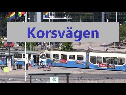 Korsvägen hållplats i Göteborg.